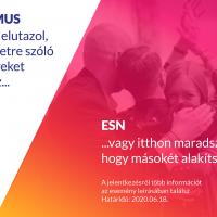 operatív tag jelentkezés ESN photo spotlight Hungary Miskolc